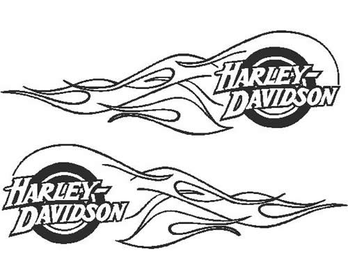 car design news  harley davidson flame