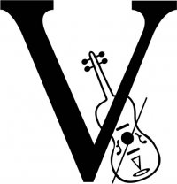 "Kids Illustrated Letter ""V"""