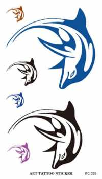 Dolphin Temporary Tattoos