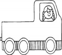 Girl in a Lorry