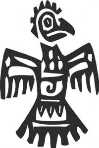 Mexican Ornament - Bird (E)