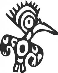 Mexican Ornament - Bird (C)