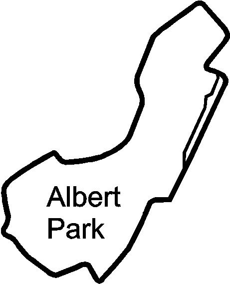 albert park circuit racetrack   decals and stickers  the