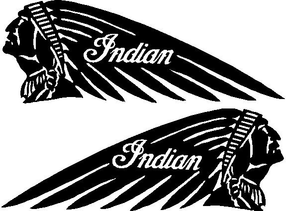 Indian Motorcycles B Decals And Stickers The Home Of