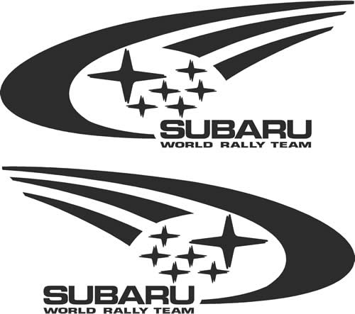 subaru world rally team decals and stickers the home of