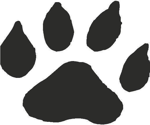 Ocelot Paw Print Tracks Decals And Stickers The Home Of